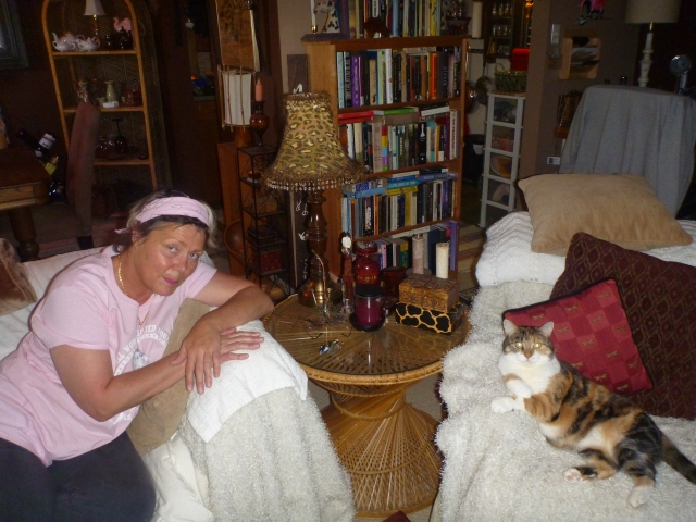 Angi and Kali/Bill in the Fergus nest